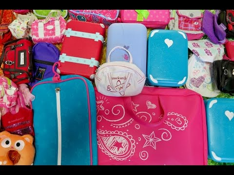 How To Travel With Your American Girl Doll ~ Overnight Stay!