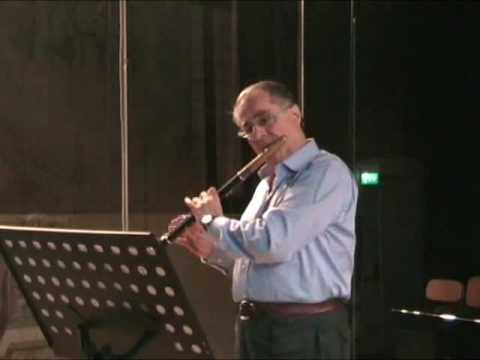 """Bruno Cavallo - Prassi 8 - C.P.E. Bach """"Sonata in la minore"""" per flauto solo"""