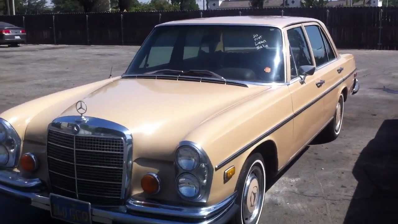 1973 mercedes benz 280se v8 sedan for sale on ebay youtube for Mercedes benz for sale ebay