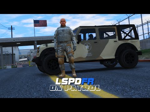 LSPDFR - Day 23 - Military Police Patrol