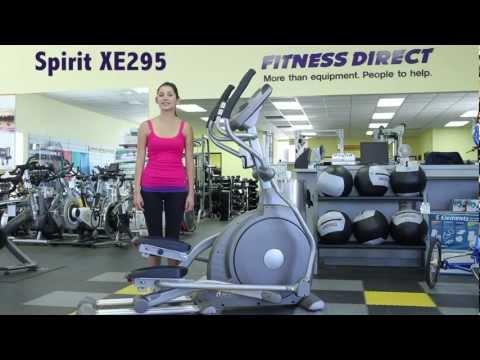 Spirit XE295 Elliptical Trainer - Fitness Direct