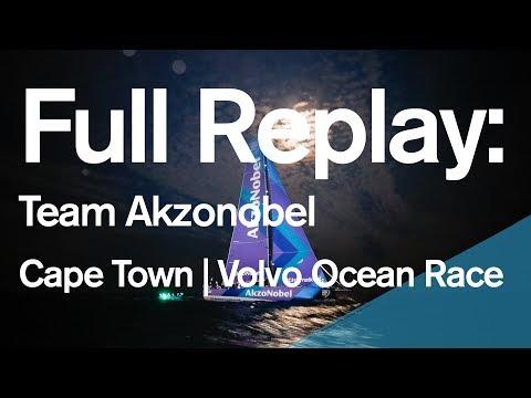 Full Replay: Team Akzonobel Leg 2 Arrivals in Cape Town | Volvo Ocean Race