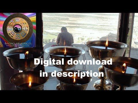 Meditazione con campane tibetane, gong e canto armonico per sedute olistiche (un'ora)