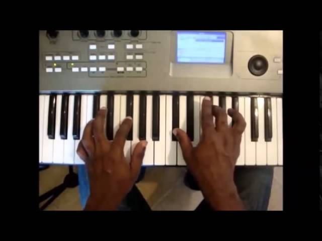 Major and Minor Primary Chords on Piano in all Keys - I IV V Chords