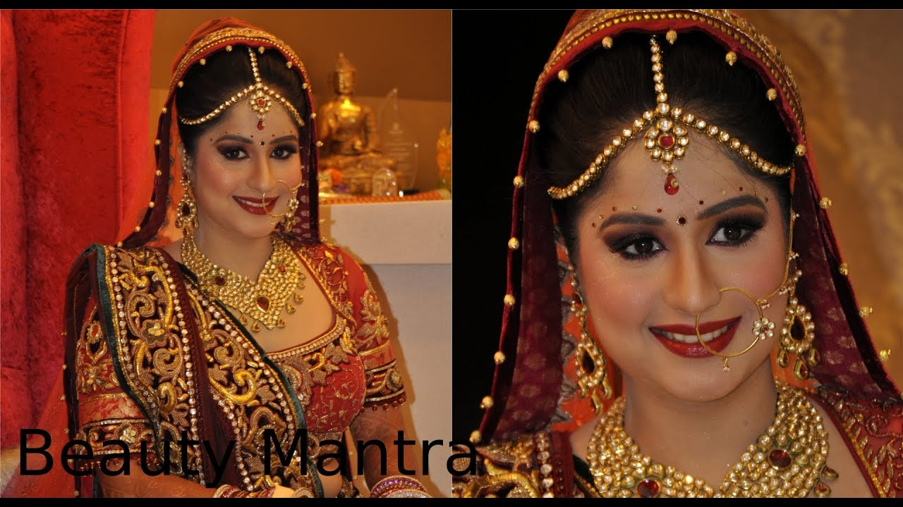 bridal makeup - royal look - youtube