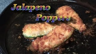The Best Jalapeno Poppers Recipe  With Mammoth Jalapeno Peppers, Fresh From The Garden