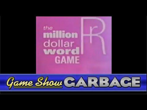 Game Show Garbage - Million Dollar Word Game