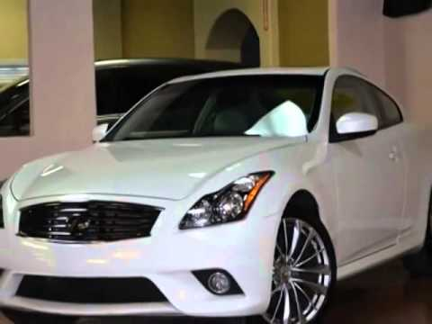 2011 Infiniti G37 Coupe Sport Package Wautomatic Transmission Coupe
