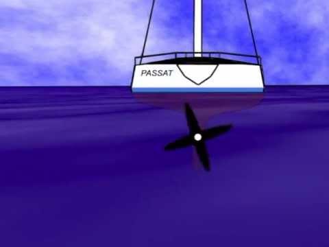 how to walk a twin screw boat sideways