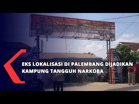 Eks Lokalisasi Di Palembang Dijadikan Kampung Tangguh Narkoba