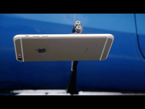 How To Shave an iPhone 6S Plus on the Freeway!