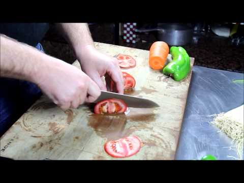D6 & D7 Maestro Wu Bombshell Steel Chef Knives Cutting Demo