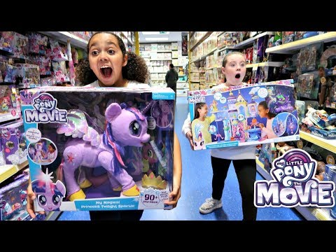 My Little Pony The Movie Surprise Toy Hunt At Smyths Toys Store | Toys AndMe