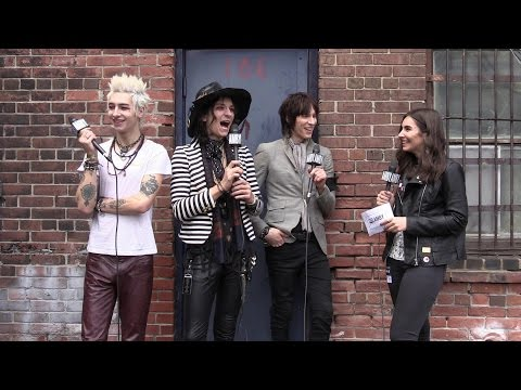 with Palaye Royale Round Two
