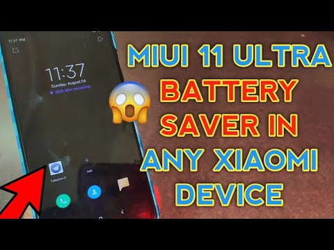 MIUI 11 ULTRA POWER SAVING MODE ON ANY XIAOMI DEVICE | Miui 11 Features In Miui 10 | Download Now 😱