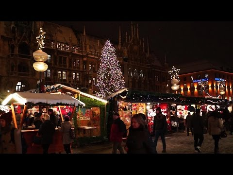 Merry Christmas І Weihnachtsmarkt München І Jingle Bells | Christmas Market Munich, Germany