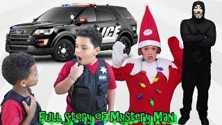HOW MYSTERY MAN WAS TAKEN DOWN BY COP KIDS! FULL MOVIE OF GAME MASTER ON OUR CHANNEL!