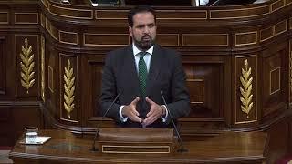 Con los Cuerpos y Fuerzas de Seguridad, Íñigo Alli, Congreso de los Diputados