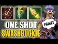 Wild Wild Pangolier - One Shot Combo [Swashbuckle + Caustic Finale + Impetus] Dota 2 Ability Draft
