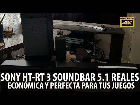 Sony Ht-Rt3 Una Barra De Sonido EconÓMica Y Perfecta Para Tus Juegos Y Tv 4k