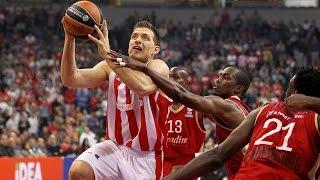 Highlights: Crvena Zvezda Telekom Belgrade-Strasbourg