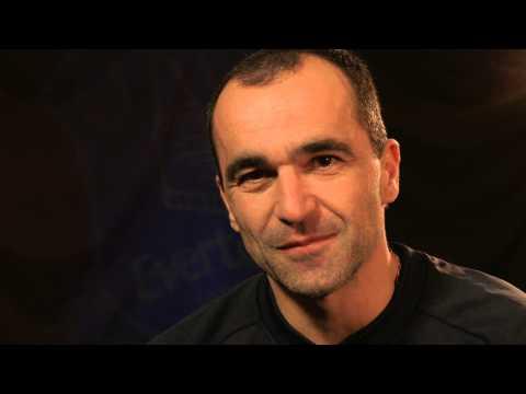 Roberto Martinez tribute to Jimmy Egan's Boxing Academy