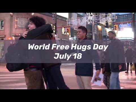 World Free Hugs Day: July 18!!! (My Birthday)
