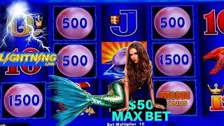 Up To $50 Max Bet Bonus ! $3200 On High Limit Lightning Link Slot | Season 8 | Episode #15