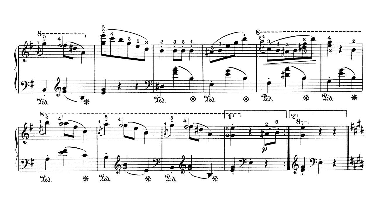 Waltz In E Minor B56 Chopin Sheet Music