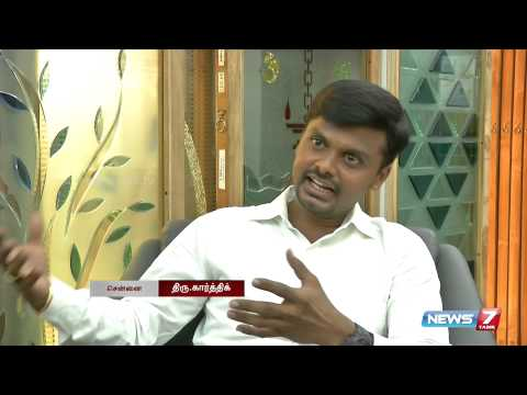 A unique glass artist in Chennai | Tamil Nadu | News7 Tamil