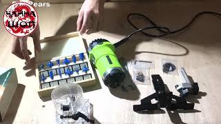 лучший Ручной фрезер 2019 с Алиэкспресс Electric wood trimmer Крутые инструменты из Китая(1)