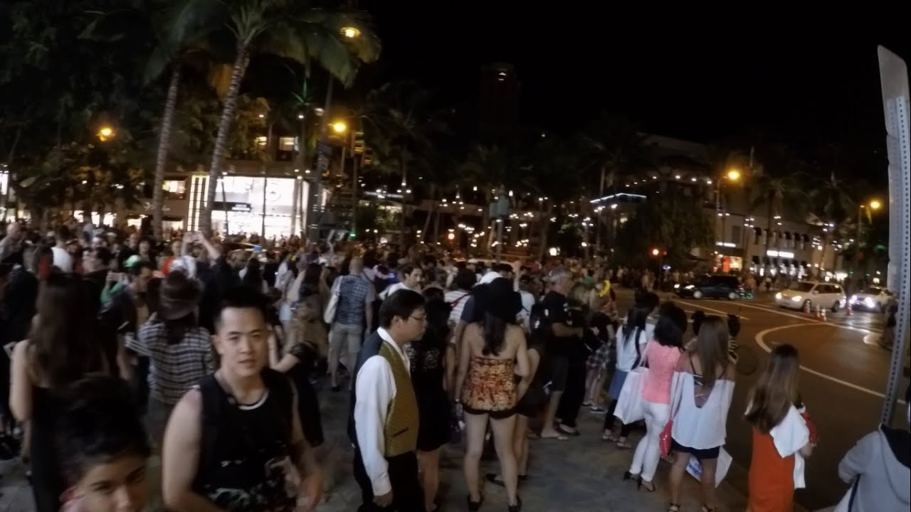 Halloween Waikiki 2020 Halloween in Waikiki 2015  aPERaday    YouTube