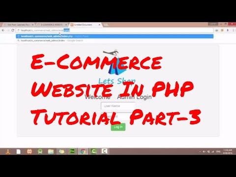 E Commerce Website PHP Tutorial-3 | Source code-1 - YouTube