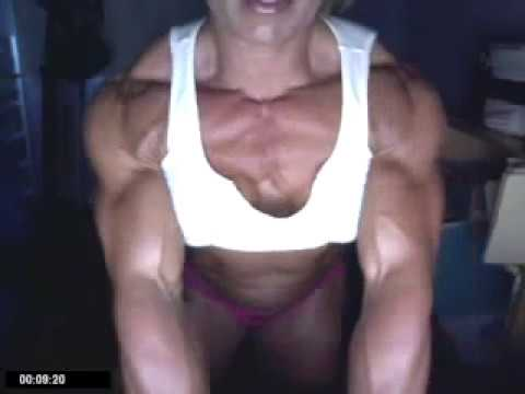 Female Bodybuilder Julie Bourassa