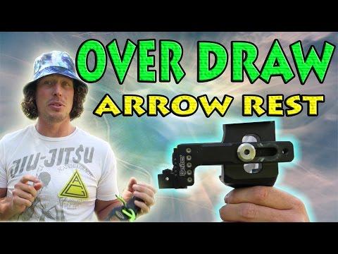 Archery Compound Over Draw Arrow Rest