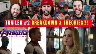 AVENGERS: Endgame (TRAILER #2) - BREAKDOWN & THEORIES!!!