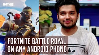 Fortnite Battle Royal sur n'importe quel téléphone Android (fr) Comment télécharger 'Play' Hindi -