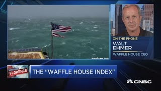 Waffle House CEO explains origin of FEMA's 'Waffle House Index'