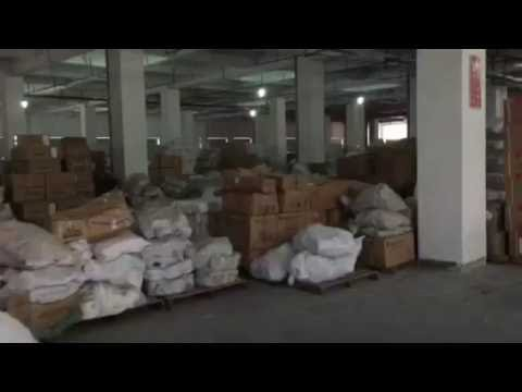Yarn stock in our fabric factory
