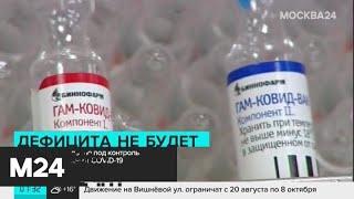 Правительство взяло под контроль поставки вакцины от COVID-19 - Москва 24