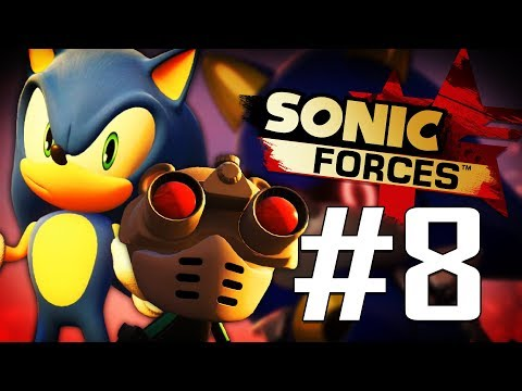 The Team Up!! Jiren & Sonic VS Metal Sonic!! | Sonic Forces (PS4) - Part 8