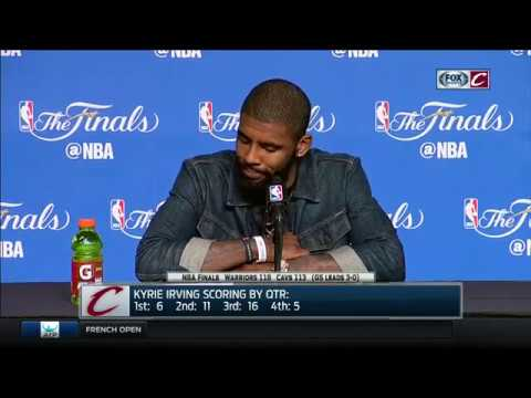 In postgame interview, Kyrie Irving admits Game 3 loss hurts | Cavs-Warriors | NBA Finals