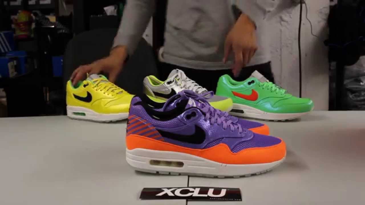 new arrival 98382 30069 Nike Air Max 1 FB Premium QS Mercurial Pack - Violet - Unboxing Video at  Exclucity - YouTube