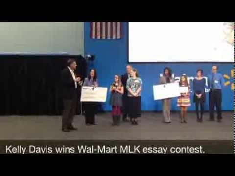 Kelly Davis wins MLK essay contest