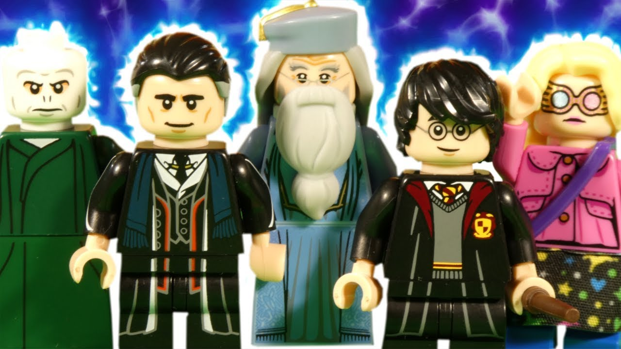 LEGO HARRY POTTER AND FANTASTIC BEASTS COLLECTABLE MINIFIGURES REVIEW - 71022 - WIZARDING WORLD