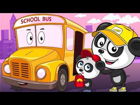 Школьный Автобус - Трактор - Грузовик - Машинки Для Детей