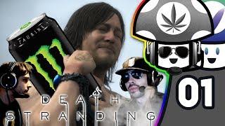 [Vinesauce] V-Dub & Vinny - Death Stranding (PART 1)