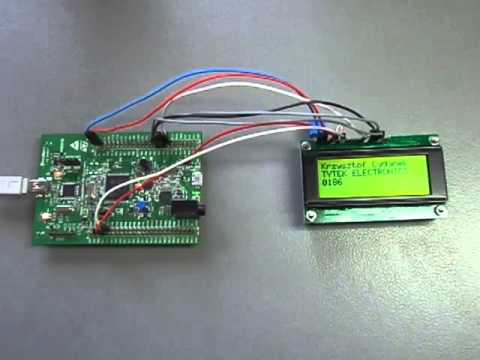 Sample demo project on STM32F4-Discovery