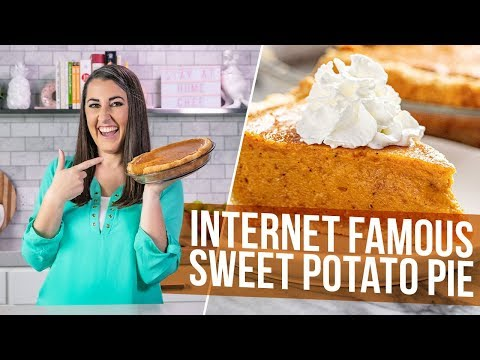 Internet Famous Sweet Potato Pie (This Recipe Came From A Tattoo!)