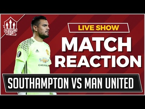 Southampton vs Manchester United 0-0 | ROMERO SAVES MOURINHO'S BLUSHES
